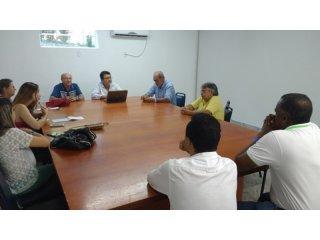 Comissão organizadora do VII CONTEFFA se reúne e acerta detalhes do evento