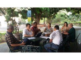 Comissão se reúne em Caldas novas para acertar detalhes do Congresso
